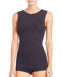 Hanro - Soft Touch Built Up Tank - Lyst