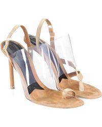 Alexander Wang - Kaia Pvc High Heel Sandals - Lyst