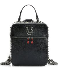 Christian Louboutin - Rubylou Vintage Leather Backpack - Lyst