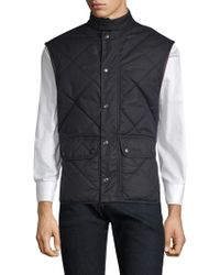 Barbour - Countrywear Waxed Lowerdale Gilet - Lyst
