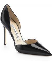 Manolo Blahnik - Tayler 105 Patent Leather D'orsay Pumps - Lyst
