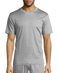 Saks Fifth Avenue - Short Sleeve Crewneck Tee - Lyst