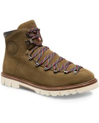 Bally - Chack Suede Hiking Boots - Lyst