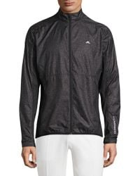 J.Lindeberg - Performance Collared Jacket - Lyst