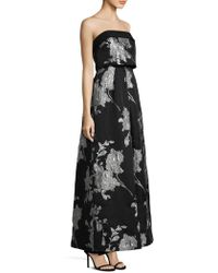 Laundry by Shelli Segal - Jacquard Ballgown - Lyst