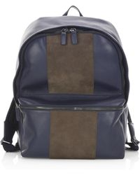 Saks Fifth Avenue - Collection Colorblock Leather Backpack - Lyst