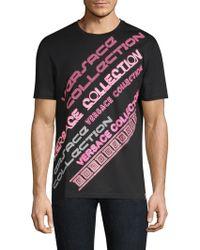 Versace - Neon Logo T-shirt - Lyst