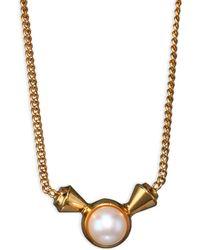 Vita Fede - Titan Pearl Pendant Necklace - Lyst