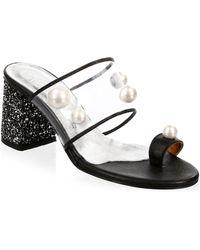 Elina Linardaki - Zero Gravity Toe Ring Sandals - Lyst