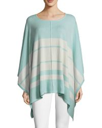 Vineyard Vines - Wool & Cashmere Striped Poncho - Lyst
