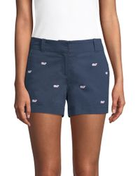 Vineyard Vines - Whale Embroidered Chino Shorts - Lyst