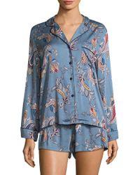 Jonquil - Paisley Tapestry Pyjamas - Lyst