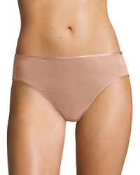 Hanro - Cotton Seamless High-cut Full Brief - Lyst