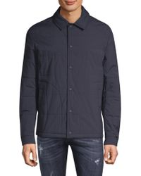 Belstaff - Quilted Long-sleeve Jacket - Lyst