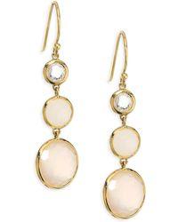 Ippolita - Lollipop? Mother-of-pearl & Moonstone Drop Earrings - Lyst