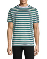 Theory - Surfer Striped Tee - Lyst