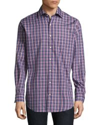 Peter Millar - Mitchell Plaid Button-down Shirt - Lyst