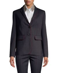 Piazza Sempione - Two-button Fitted Blazer - Lyst