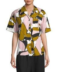 Marc Jacobs - Printed Short-sleeve Shirt - Lyst