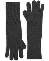 Saks Fifth Avenue - Collection Cashmere Knit Gloves - Lyst