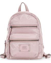 Frye - Women's Ivy Mini Backpack - Lilac - Lyst