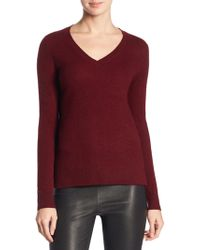 Saks Fifth Avenue - Collection Cashmere V-neck Sweater - Lyst