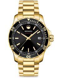 Movado - Se800 Bracelet Watch - Lyst