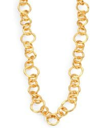 Stephanie Kantis - Coronation Large Chain Necklace/42 - Lyst