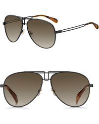 Givenchy - 61mm Aviator Sunglasses - Lyst