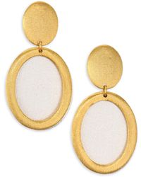 Stephanie Kantis - Life Two-tone Double-drop Earrings - Lyst