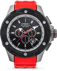 Kyboe - Alpha Series Rouge Stainless Steel Strap Watch - Lyst