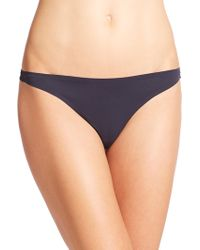 Stella McCartney - Stella Smooth & Lace Thong - Lyst