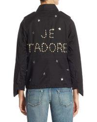 Tu Es Mon Tresor - Je T'adore Star Charm Field Jacket - Lyst