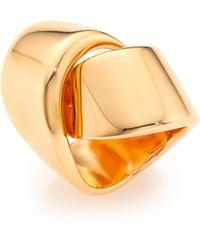 Vhernier - Abbraccio 18k Rose Gold Ring - Lyst