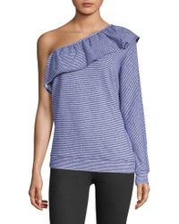 Joie - Aleesha One Sleeve Top - Lyst