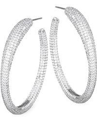 Adriana Orsini - Atrani Hoop Earrings - Lyst