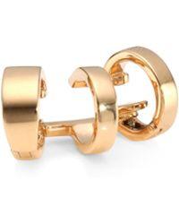 Repossi - 18k Rose Gold Three Hoopear Cuff - Lyst
