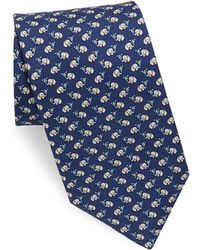 Ferragamo - Silk Elephant Ice Cream Tie - Lyst