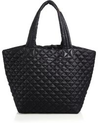MZ Wallace - Metro Medium Quilted Nylon Tote - Lyst