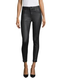 The Kooples - Franky Leather Effect Pants - Lyst