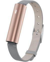 Misfit - Ray Rose Goldtone Stainless Steel Fitness & Sleep Tracker - Lyst