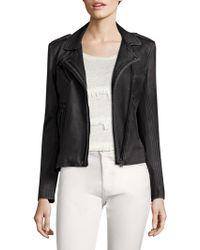 IRO - Han Leather Moto Jacket - Lyst