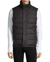Tumi - Reversible Down-filled Vest - Lyst