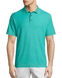 Robert Graham - Messenger Heather Polo - Lyst