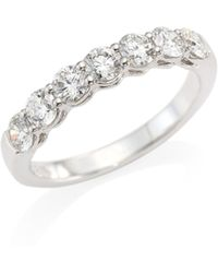 Hearts On Fire | Multiplicity Love Seven-diamond Band | Lyst