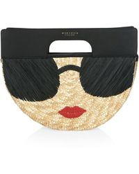 Alice + Olivia - Stace Face Clutch - Lyst