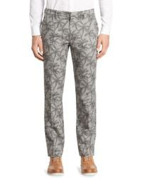 Bonobos - Foundation Palm Sketch Trousers - Lyst
