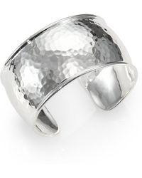 Ippolita - Glamazon Sterling Silver Flat Cuff Bracelet - Lyst