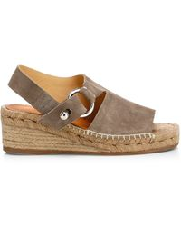 83880476a77 Rag & Bone Arc Suede Wedge Espadrilles in Natural - Lyst