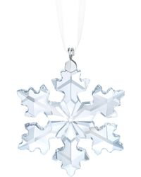 Swarovski - Little Snowflake Ornament - Lyst